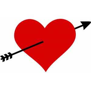 arrowed heart