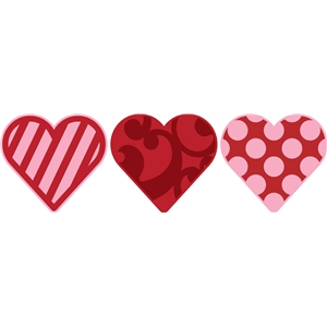 cute heart set