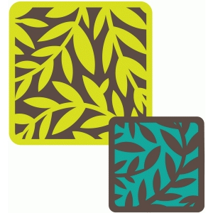 square vine cards