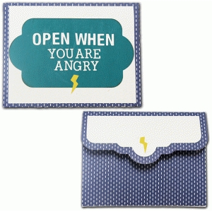 open when-you are angry envelope