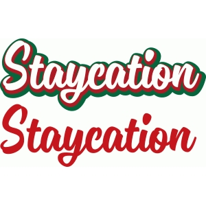 brush titles - staycation