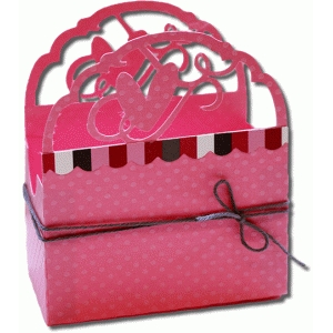 flourish heart favor box