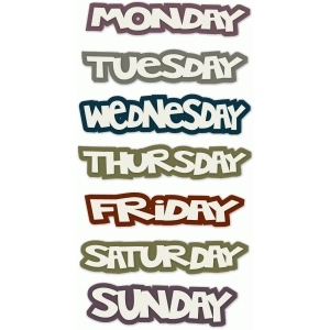 wacky days of the week