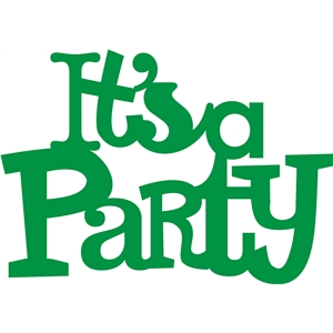 'It's a party' phrase