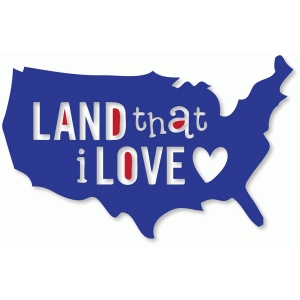 'land that i love' map