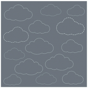 stitched clouds background