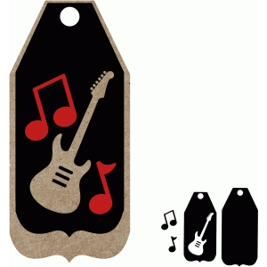 guitar tag set