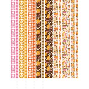 vintage kitchen washi tape planner stickers
