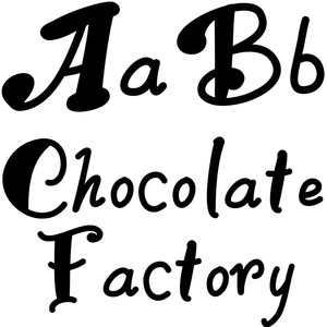 chocolate factory font