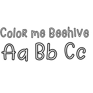 color me beehive