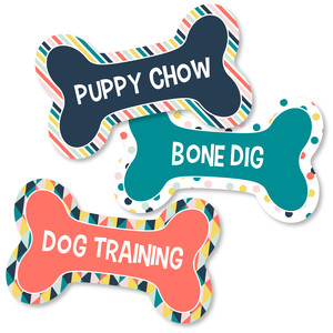dog bone signs