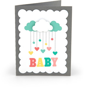 baby card clouds
