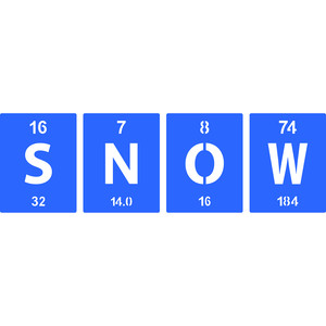 periodic table snow