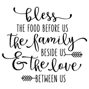 bless the food before us phrase
