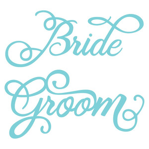 wedding bride groom words