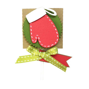 lollipop glove christmas