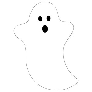 ghost with hands