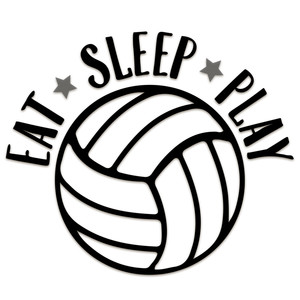 eat sleep play volleyball
