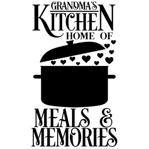 grandma's kitchen meals memories