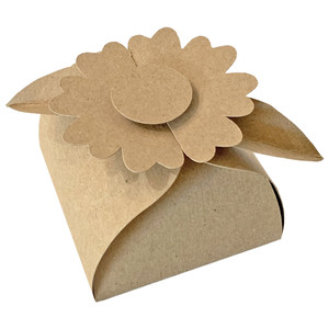 slide box with heart flower