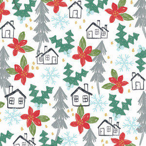 holiday houses pattern