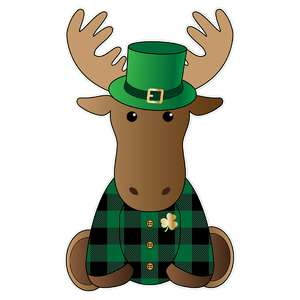 st. patrick's day moose