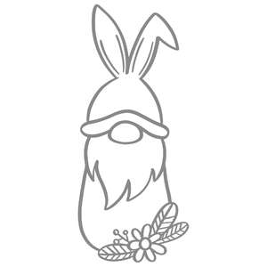 bunny flower gnome