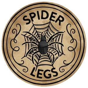 spider legs potion label