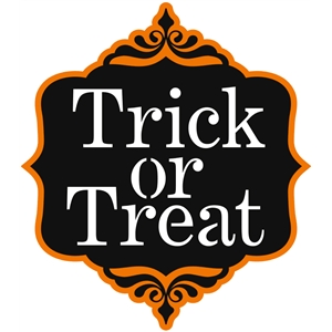 'trick or treat' phrase tag