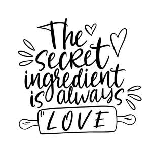 the secret ingredient is always love