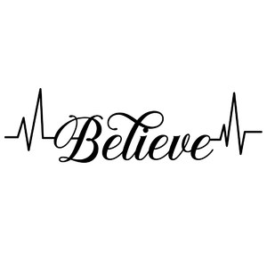 believe heartbeat word