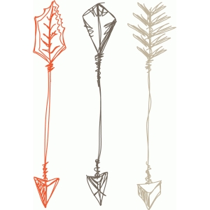 arrows set sketch
