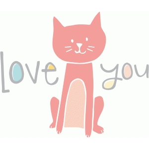 love you - kitten