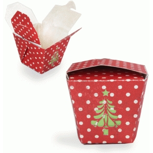 christmas take out box