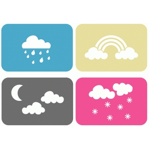4x6 weather cards