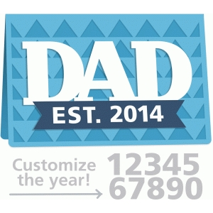 dad established card