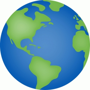 calendar icon - earth day