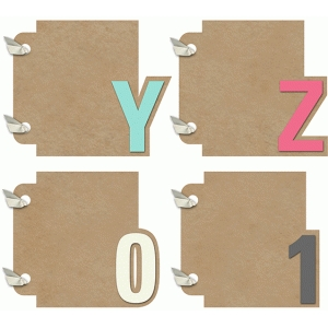 3x4 mini album yz01 set