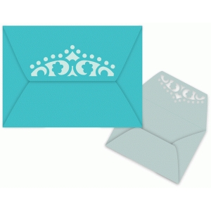 ornate garden floral envelope with liner
