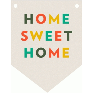 home sweet home flag