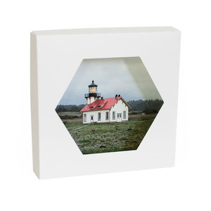 Hexagon Photo Box