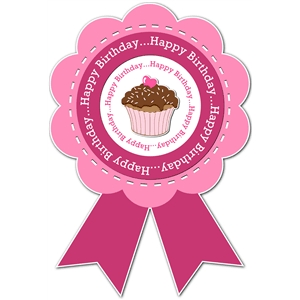birthday ribbon award 1