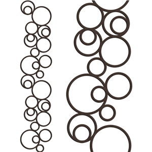 geometric border - circles