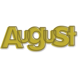 'august' outline