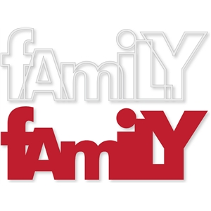 'family' outline