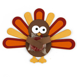 turkey candy hugger