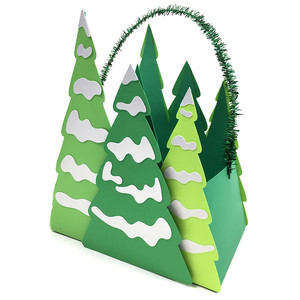 tree farm gift bag