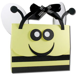bee mine handle bag