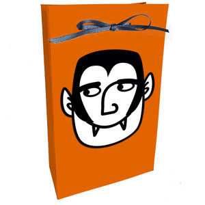 cute vampire halloween bag
