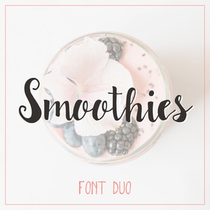 smoothies font duo